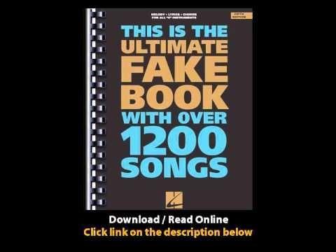 the blues fake book pdf