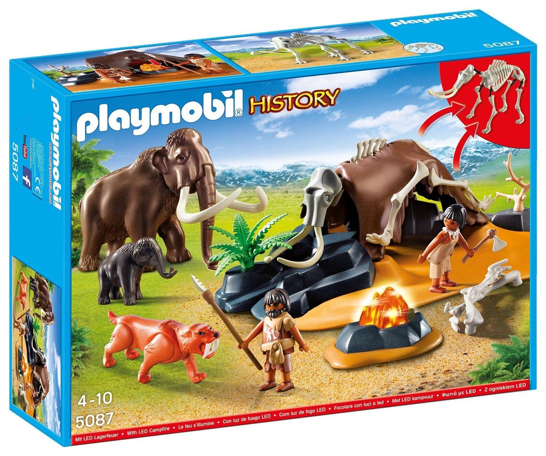 PLAYMOBIL 5087 CAMPAMENTO PREHISTORICO http://www.playmundo.es/playmobil-5087-campamento-prehistorico-8083-p.asp