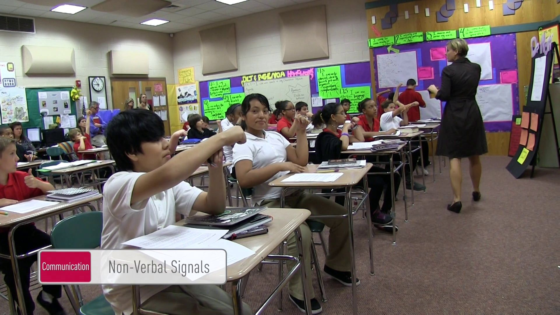 Nonverbal Signals Management In The Active Classroom
