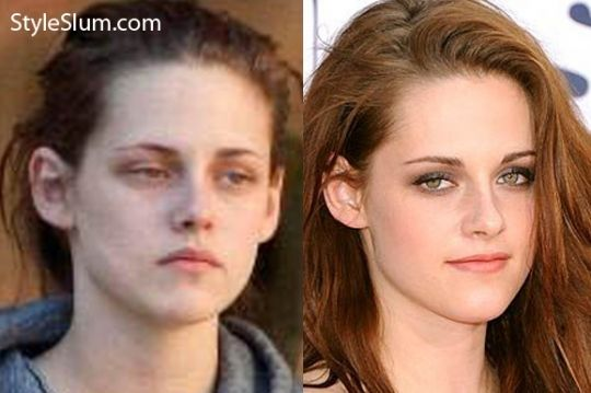Kristen Stewart Without Makeup Before After Makeup Before And After Without Makeup Kristen Stewart
