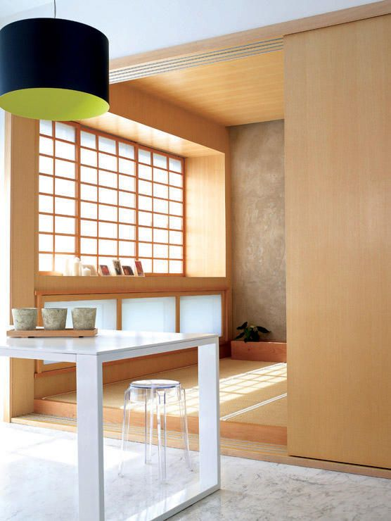 Blog You Will Feel So Zen And Calm In This Japanese Inspired Apartment On Homeanddecor Com Japanese Home Design Asian Interior Design Japanese Interior Design