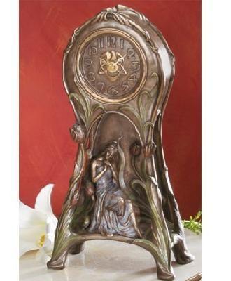 Art Nouveau - Tulip Clock