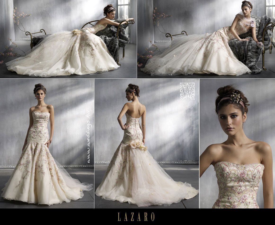 Lazaro Bridal, Spring 2008 Absolutely obsessed with this dress ...