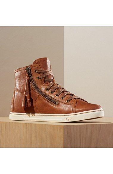281f83c17da UGG® Australia 'Blaney' Tasseled High Top Sneaker (Women) available ...
