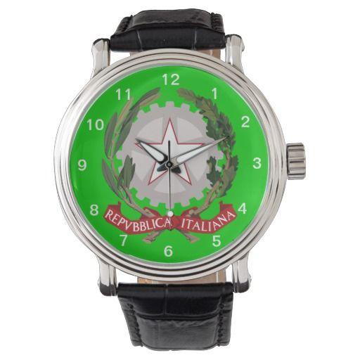 Italian* Coat of Arms Custom Wristwatch