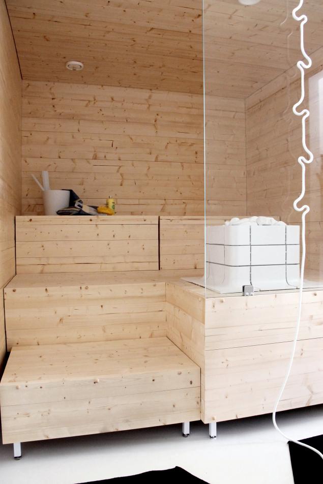 KOTIPALAPELI - sauna idea