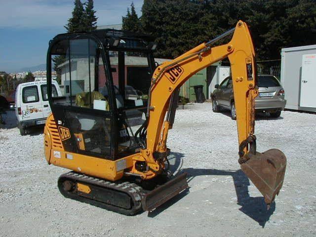 jcb 801 4 801 5 801 6 mini excavator service repair workshop manual rh pinterest ca jcb 160 excavator manual