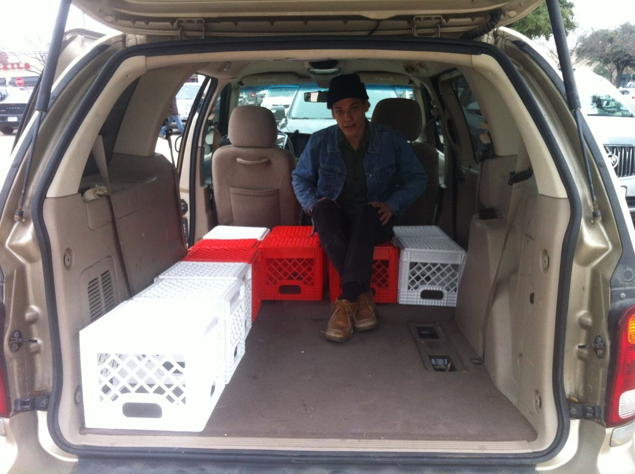 How To Convert A Minivan To A Camper We Converted Our 2001 Ford Windstar Minivan To A Comfortable Camper With Plenty Of Stor Mini Van Minivan Camping Cool Vans
