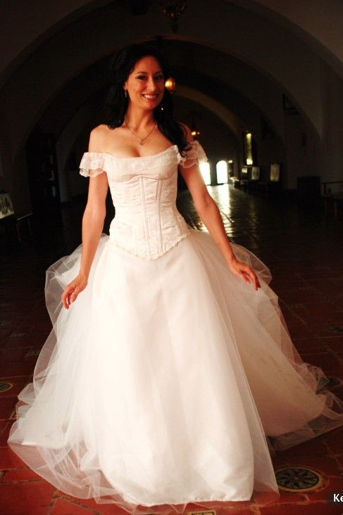 Phantom of the Opera Wedding Gown with bonus FIRST by AriaCouture, $500.00
