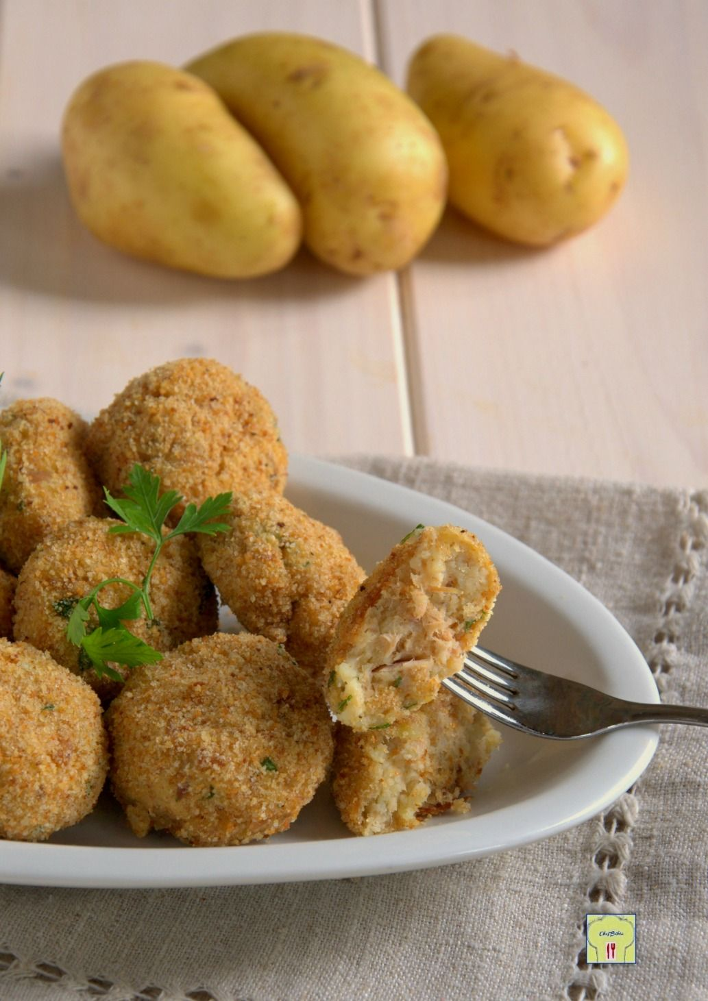 Polpette di tonno e patate gp cucina italiana nel 2019 for Cucinare vegetariano