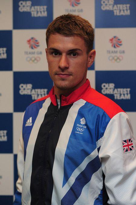 Ramsey in Olympic Team GB Gear.