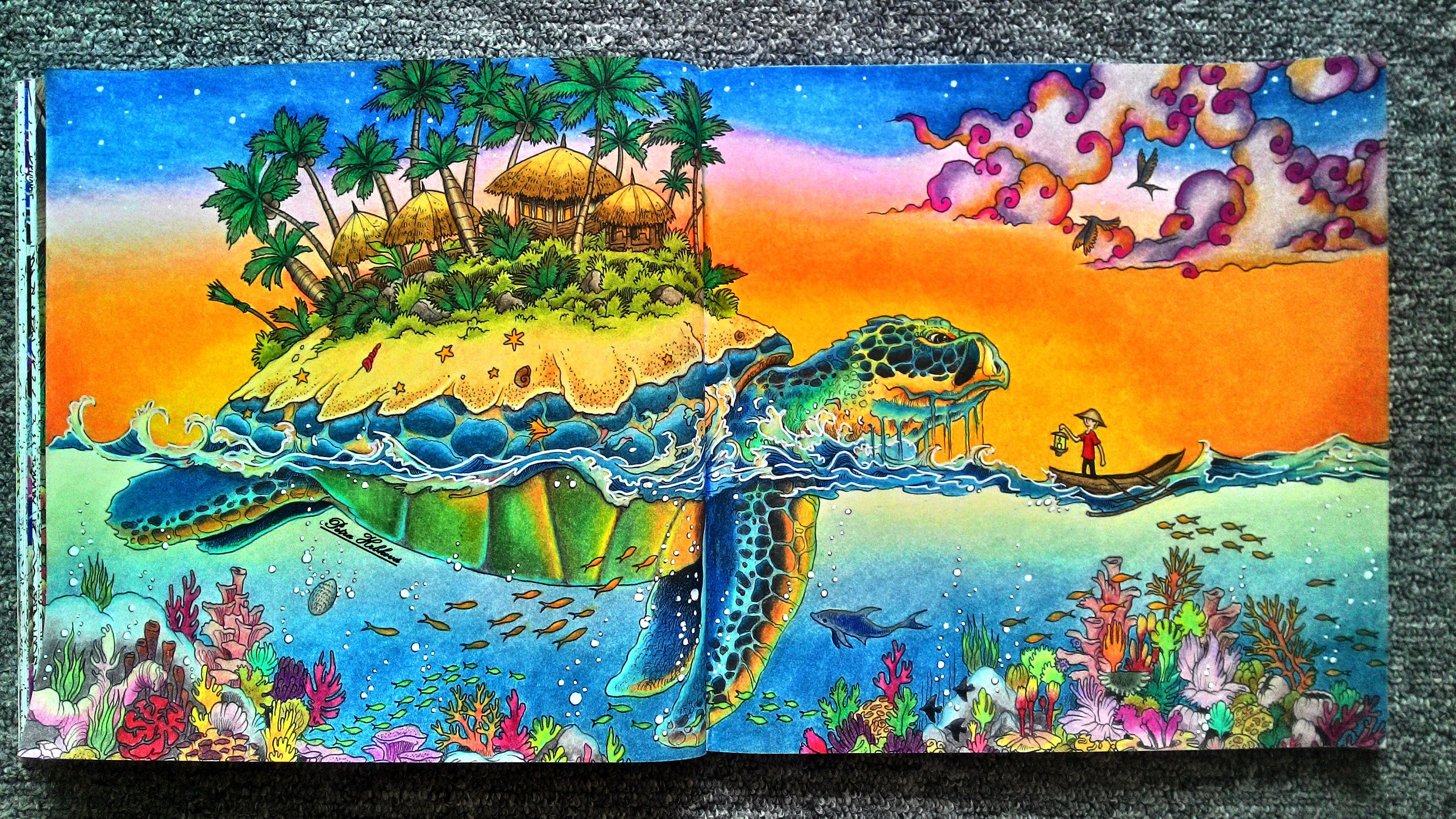 Kerby Rosanes Mythomorphia Prismacolor Animorphia Coloring Book Coloring Book Art Coloring Books