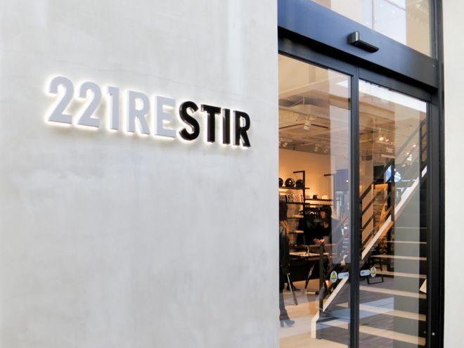 4月に原宿にオープンした「221RESTIR」