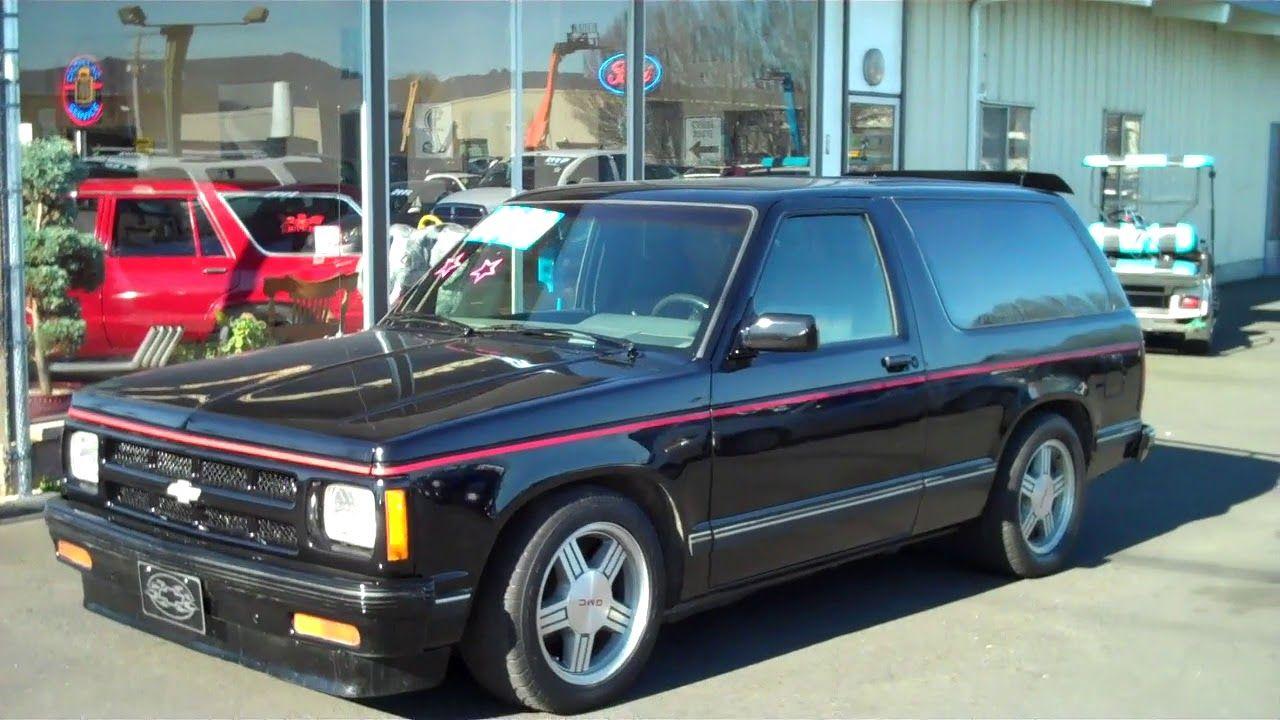 1989 Chevy S10 Blazer Jimmy Sold In 2020 Chevy S10 Chevy