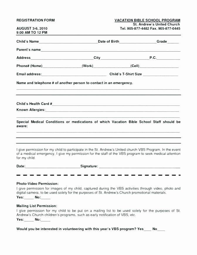 Free Sports Registration Form Template In 2020 Registration Form