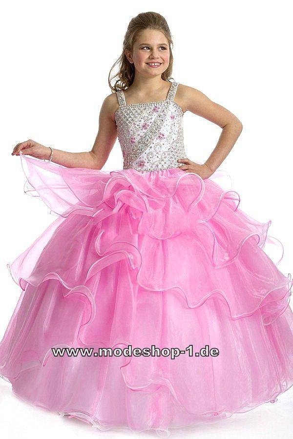 Prinzessin Abendkleid Ballkleid für Mädchen Blumenmädchenkleid in ...