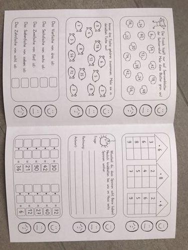 zaubereinmaleins designblog schule pinterest einmaleins mathe und mathematik. Black Bedroom Furniture Sets. Home Design Ideas