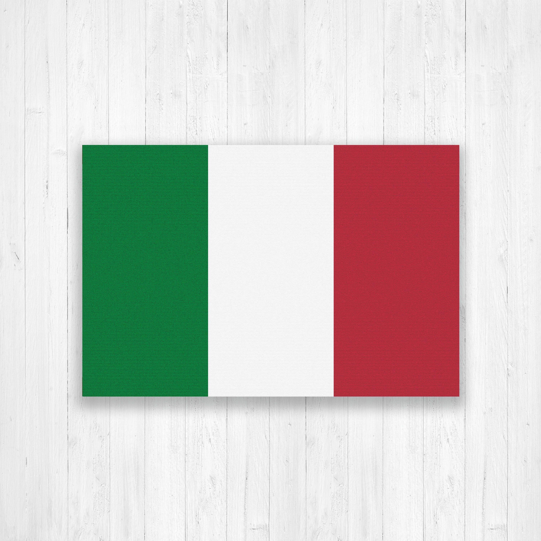 Italy Flag Canvas Italian Flag Canvas Print Italy Flag Large Canvas Wall Art Large Italy Flag P Large Canvas Wall Art Italy Flag Inspirational Quote Prints