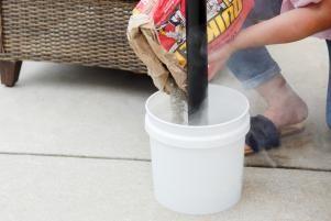Throwing Shade: DIY Rolling Umbrella Stand Planter
