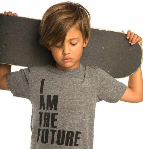 Coupe garçon - 80 superbes idées de coiffure pour les jeunes messieurs | Coiffure enfant garcon ...