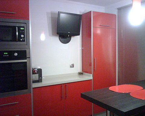 cocina roja kitchen red Kitchens Pinterest Kitchens