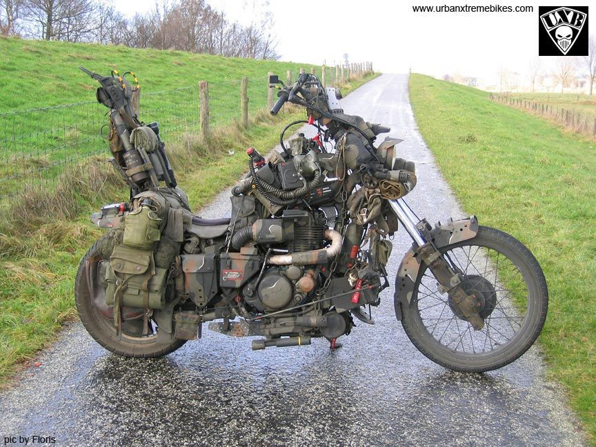Random Inspirational Bikes Survival Bikes Rat Bike Adventure Bike Motorcycle
