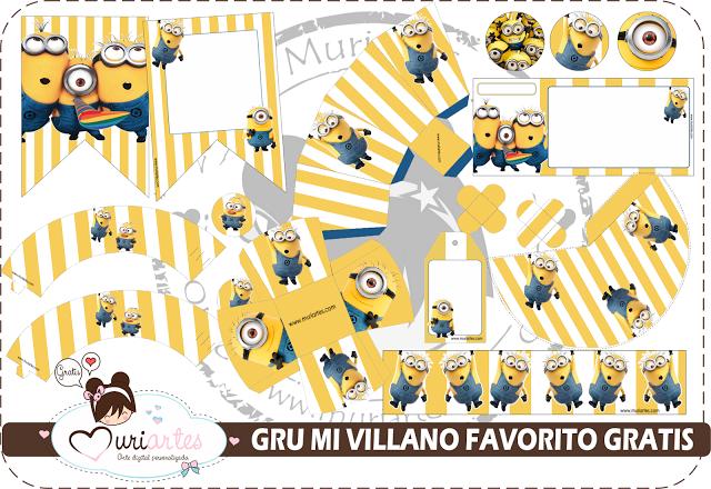 Divertido Kit De Minions Para Imprimir Gratis Oh My Fiesta