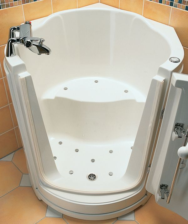 Sitzbadewanne Badezimmer umbau, Wanne