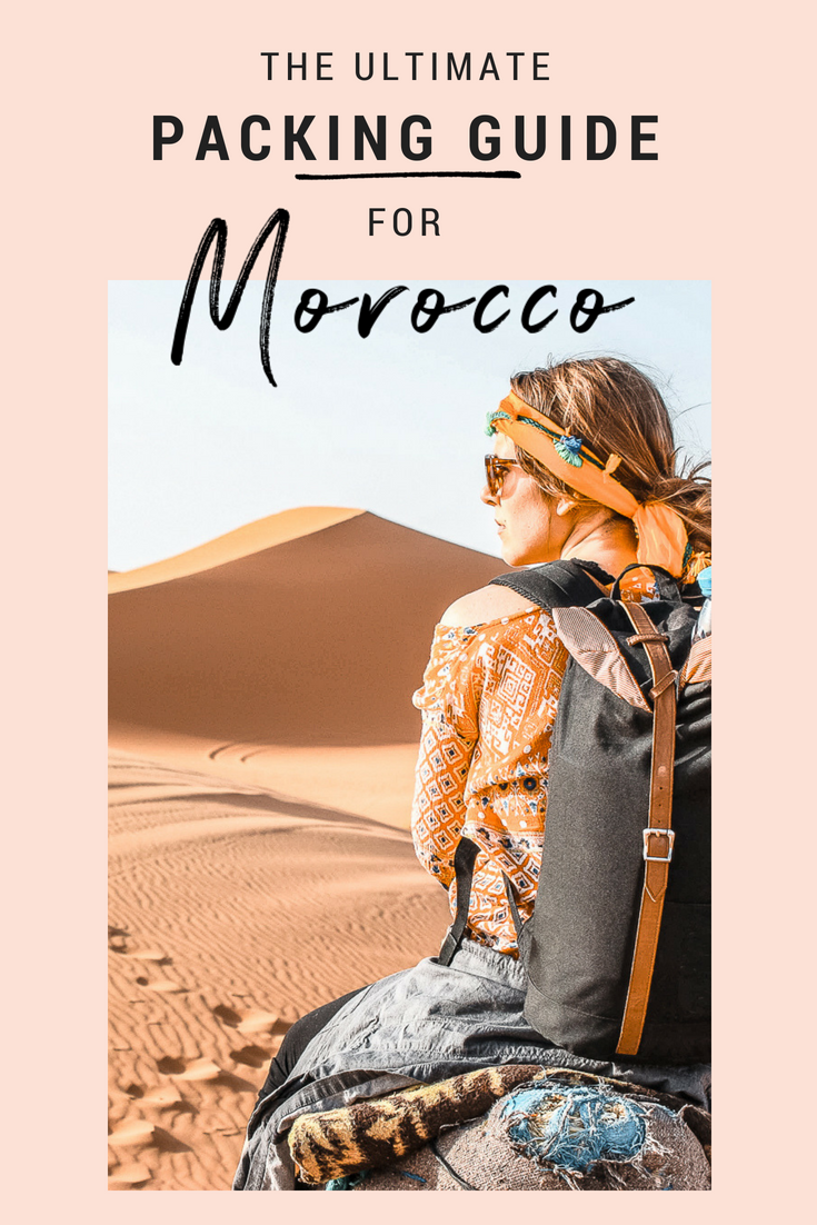 What To Wear In Morocco  | The Morocco Packing List For Women is part of What To Wear In Morocco Packing List Anna Everywhere - Wondering what to wear in Morocco  I know I did! Here's the perfect Morocco packing list with all the essentials you need to pack as well as tips & tricks!