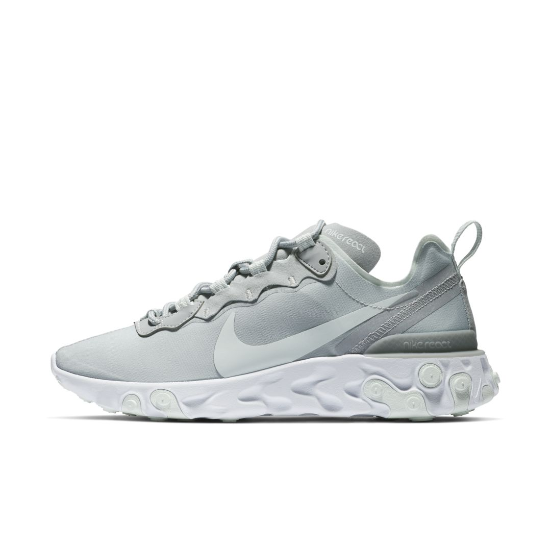 brand new 70178 0846f Nike React Element 55 Women s Shoe Size 8 (Wolf Grey)