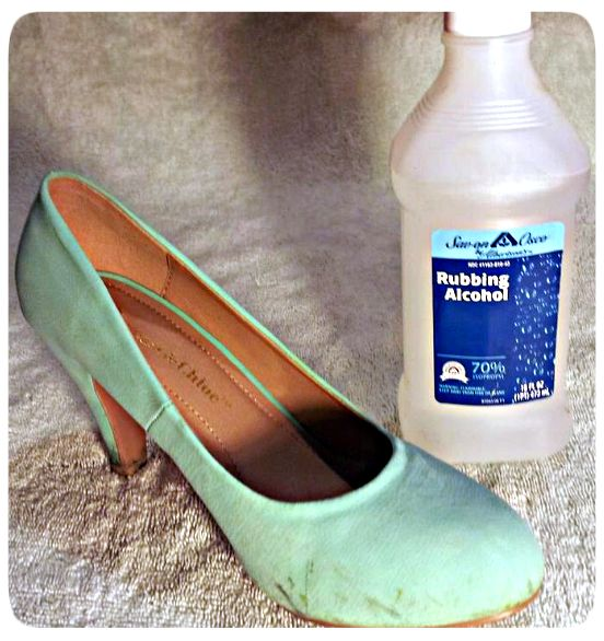 How to Clean Suede shoes  Rubbing alcohol! Tried and true  89a68ab9f