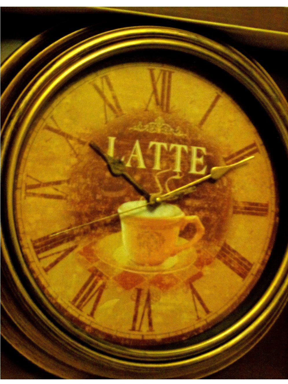 Coffee Themed Wall Clocks Image collections - home design wall stickers