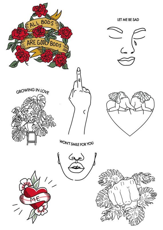 Temporary Tattoos #tattoodrawings