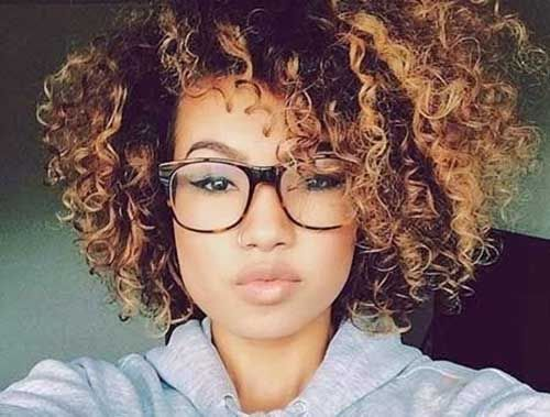 natural curly afro hairstyles | Hair | Pinterest | Short natural ...