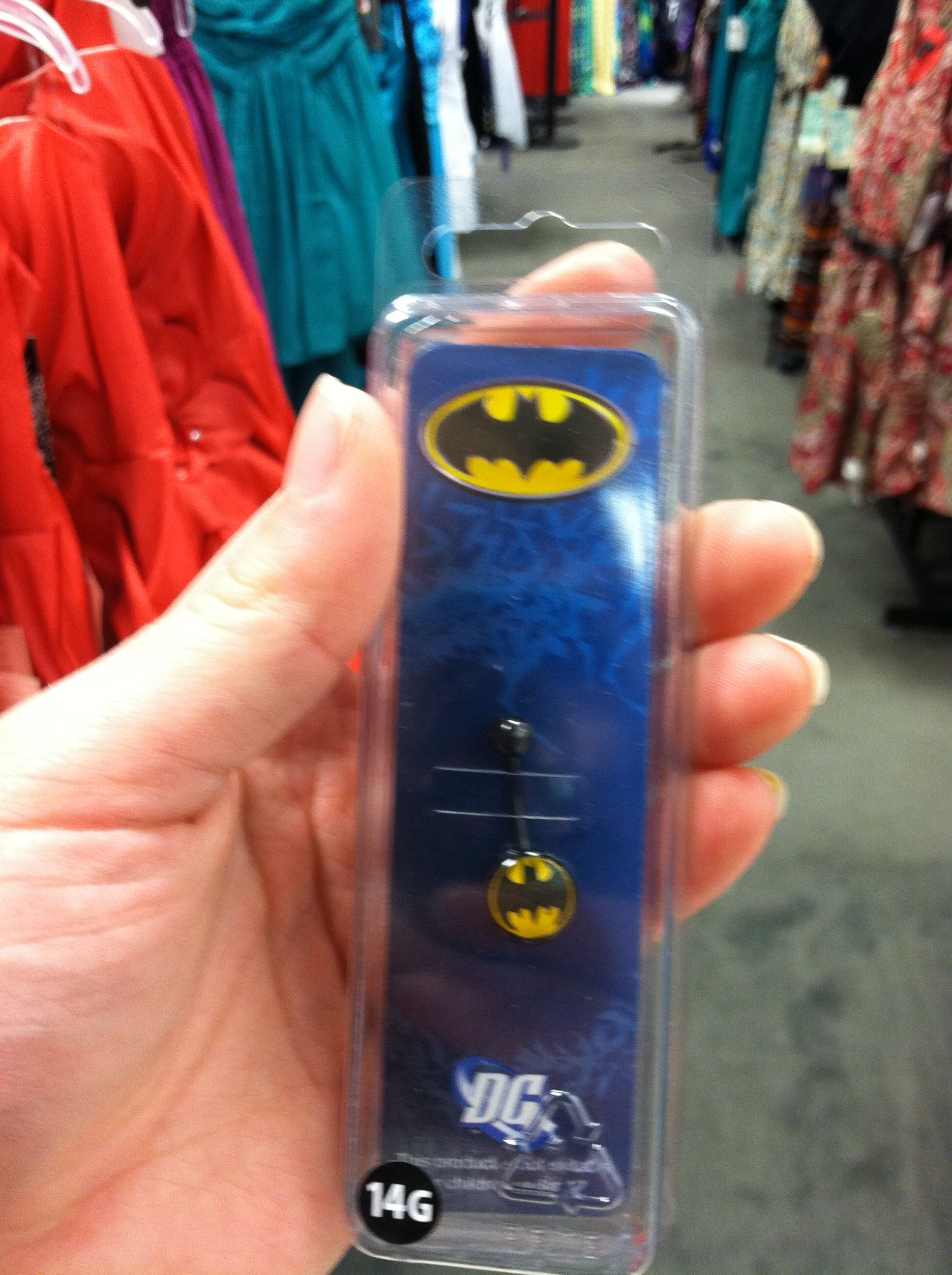 Awesome Batman Belly Button Ring Batman Belly Rings Belly