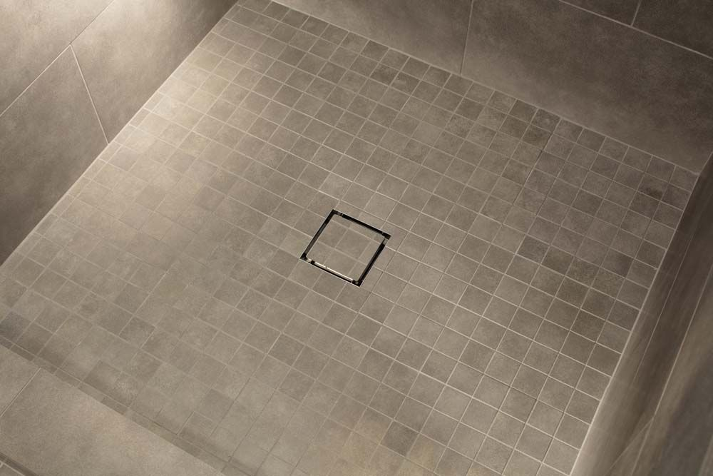 Cahaba Cahti5x5 5 In X 5 In Stainless Steel Tile Insert Square