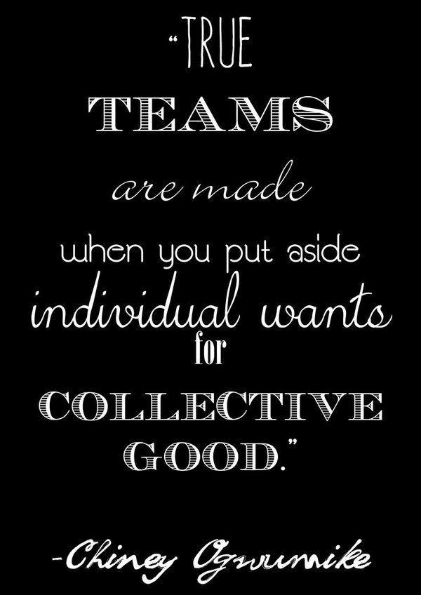 8 Short Positive Teamwork Quotes Post Teamwork is the ability to work together toward a common vision.