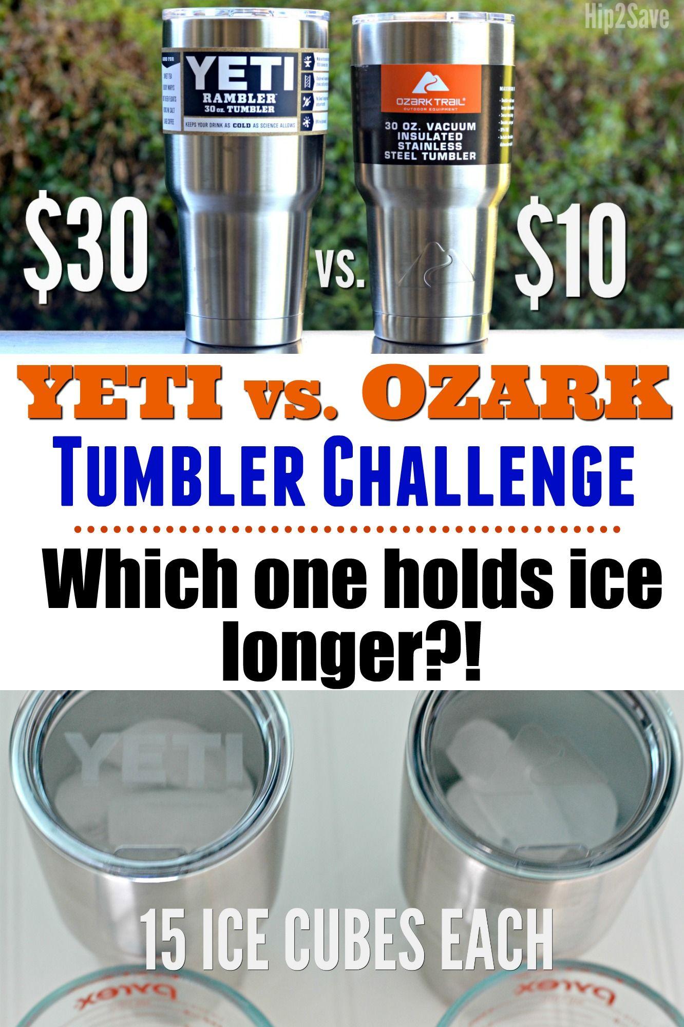 Yeti Vs. Ozark Tumbler Challenge Cool science fair
