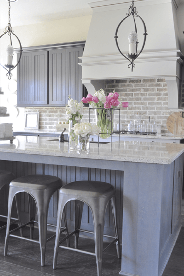 home tour in 2019 white brick backsplash home decor home rh pinterest com