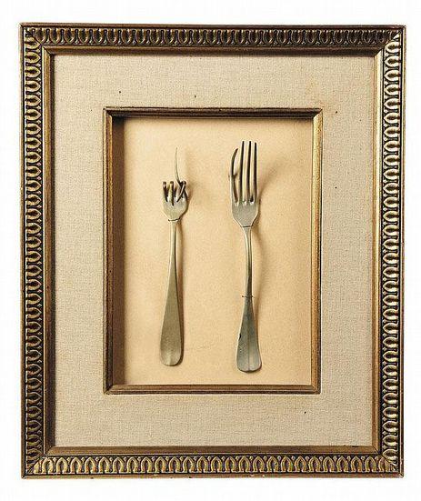 Bruno Munari, The forks, 1958. Italy.
