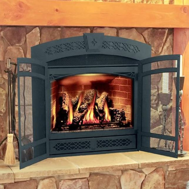 fireplaces with zero clearance for saving of housing free space rh pinterest com