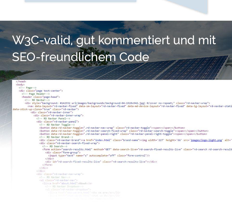 Modèle web adaptatif #58950 pour site d'énergie solaire