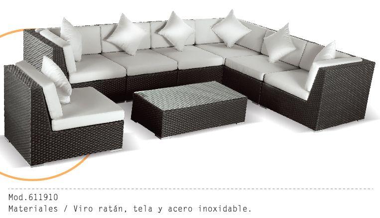 Mueble Exterior Mod 611910 #muebles #sillon #salas #minimalista - mueble minimalista