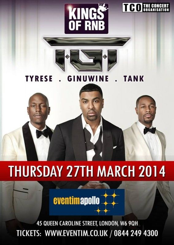 Blog   Rochelle Arthurs concert review feat video footage from last night's TGT Concert. Check it out here http://www.rochellearthurs.com/blog/127/59/TGT-Tyrese-Ginuwine-Tank-Concert-Review