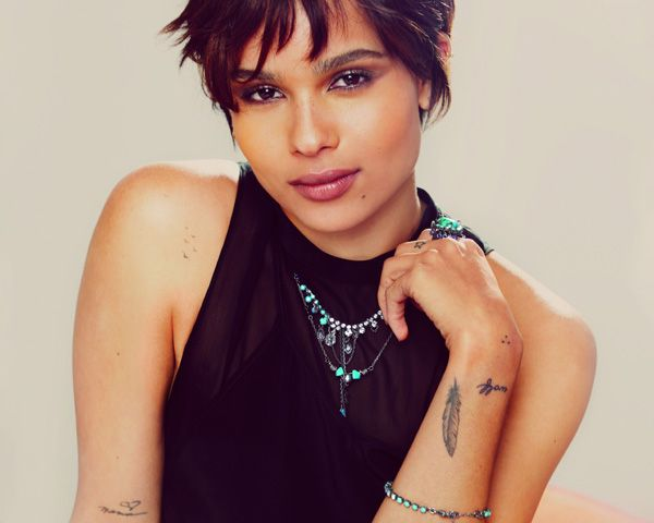 Exclusive Image: Zoë Isabella Kravitz Models Her Swarovski Crystallized Jewels