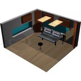 Studio Acoustics Studio Control Room Acoustics Pro Package 1 Room Acoustics Media Room Design Small Media Rooms