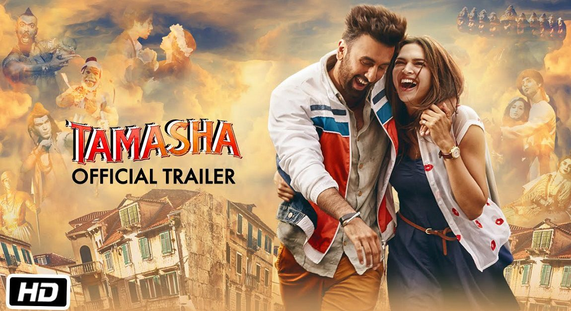 Tamasha Movie Mp4 Hd Official Trailer Free Download Deepika Padukone Ranbir Kapoor Tamasha Movie Bollywood Movie Official Trailer