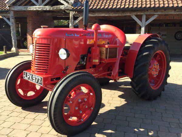 David Brown Cropmaster diesel 1950 - best in the country ...
