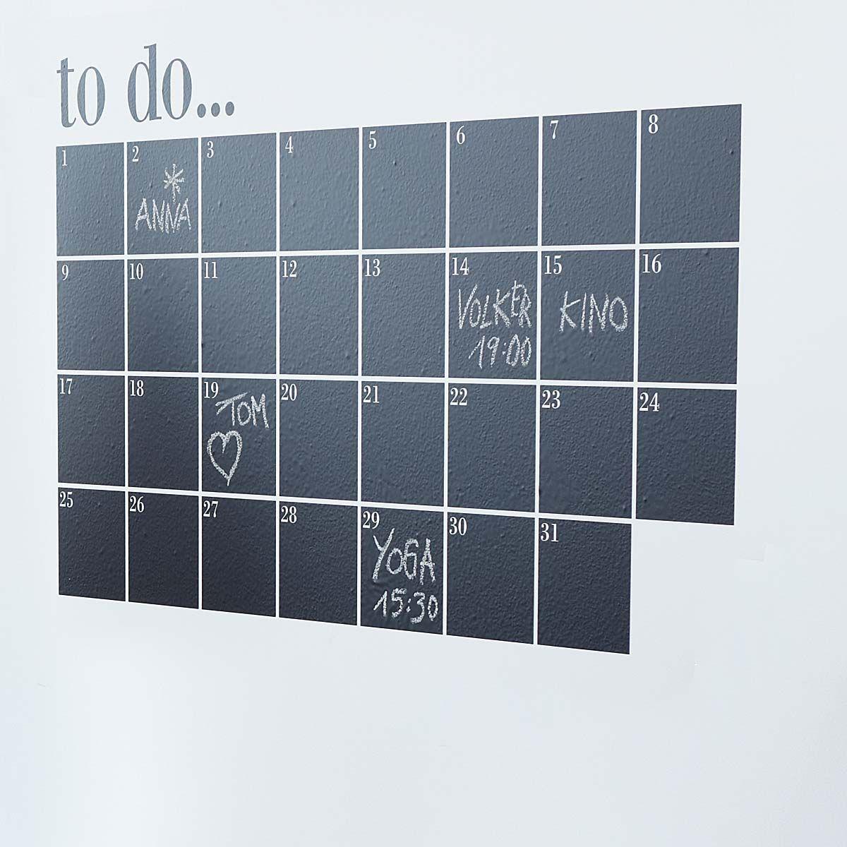 Statt Kalender im flur oder in der Küche   diy wohnen   Pinterest ...