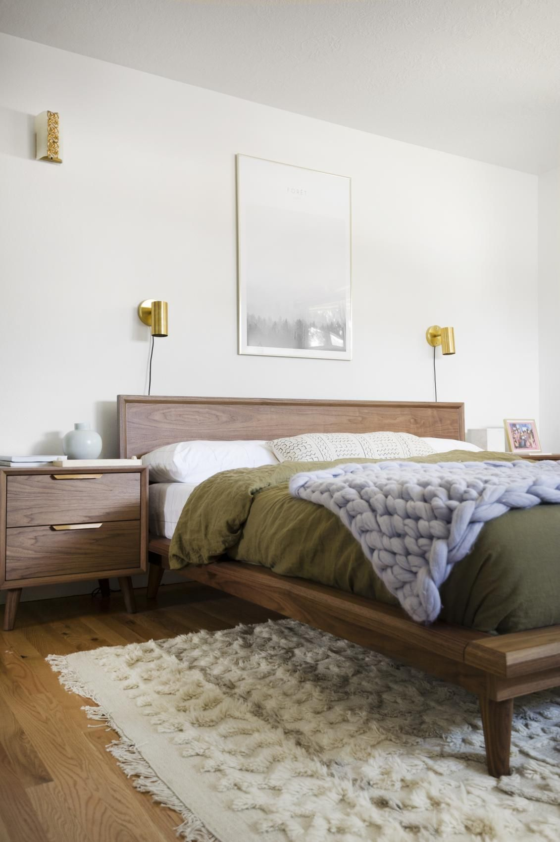 Kirsten Groveu0027s bedroom with Rove Concept via